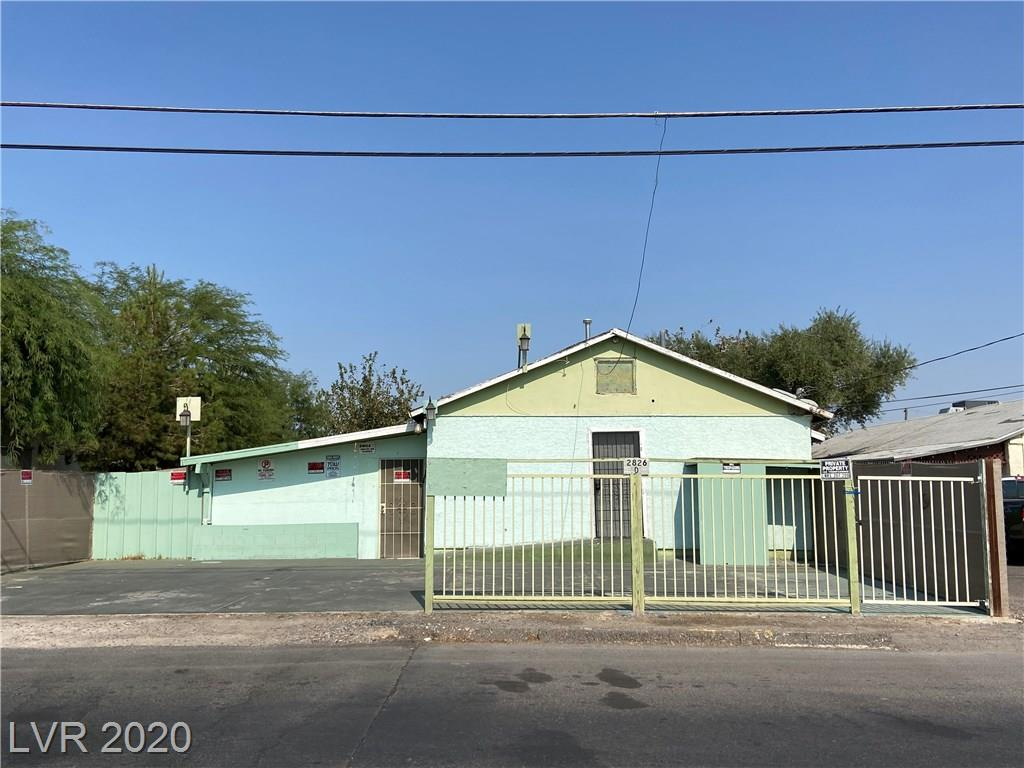 2826 Cedar Street Property Photo - Las Vegas, NV real estate listing