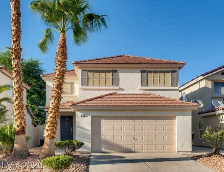 686 Ribbon Grass Avenue Property Photo - Las Vegas, NV real estate listing