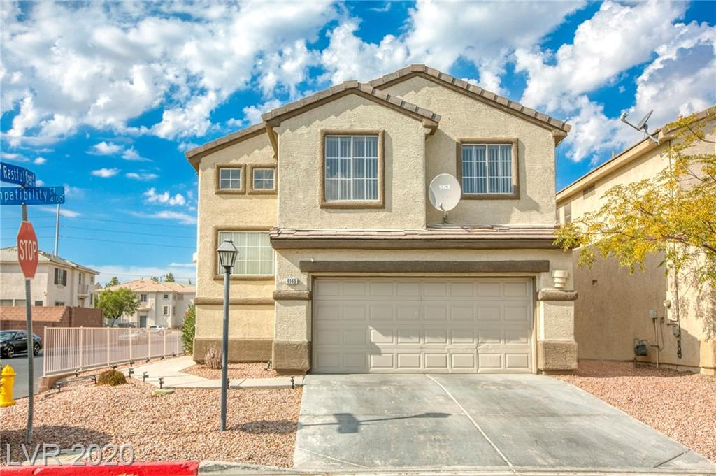 4145 Compatibility Court Property Photo - North Las Vegas, NV real estate listing