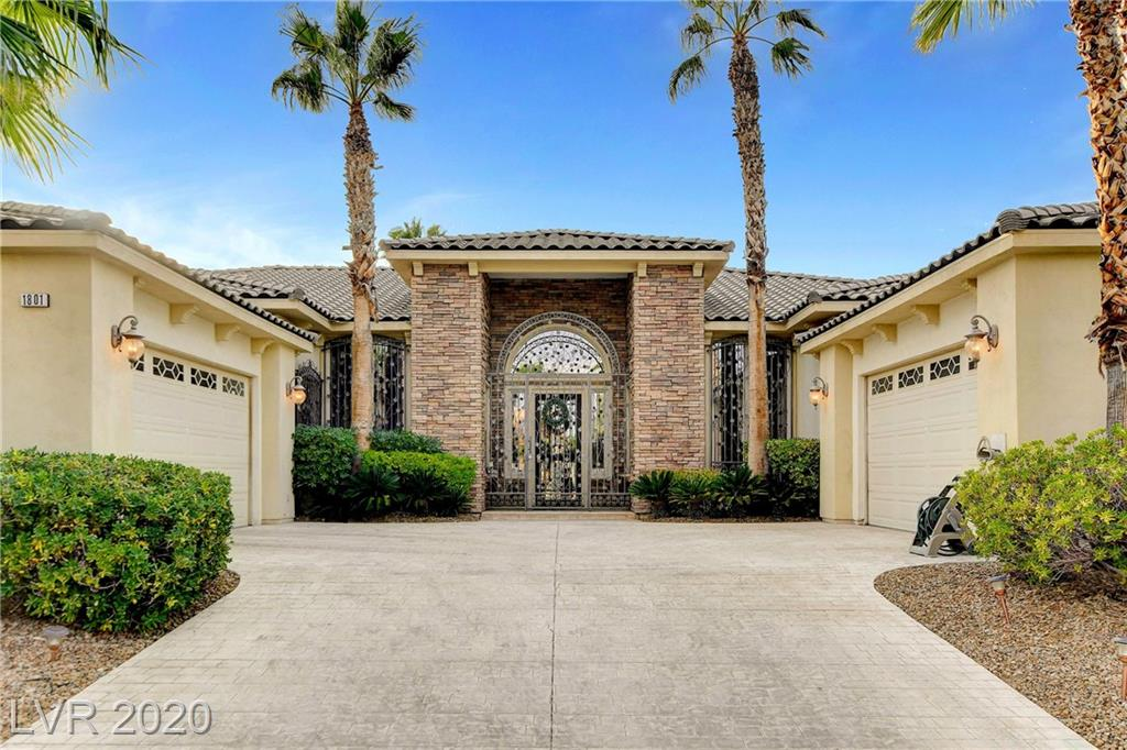 1801 Langley Estates Drive Property Photo - Las Vegas, NV real estate listing