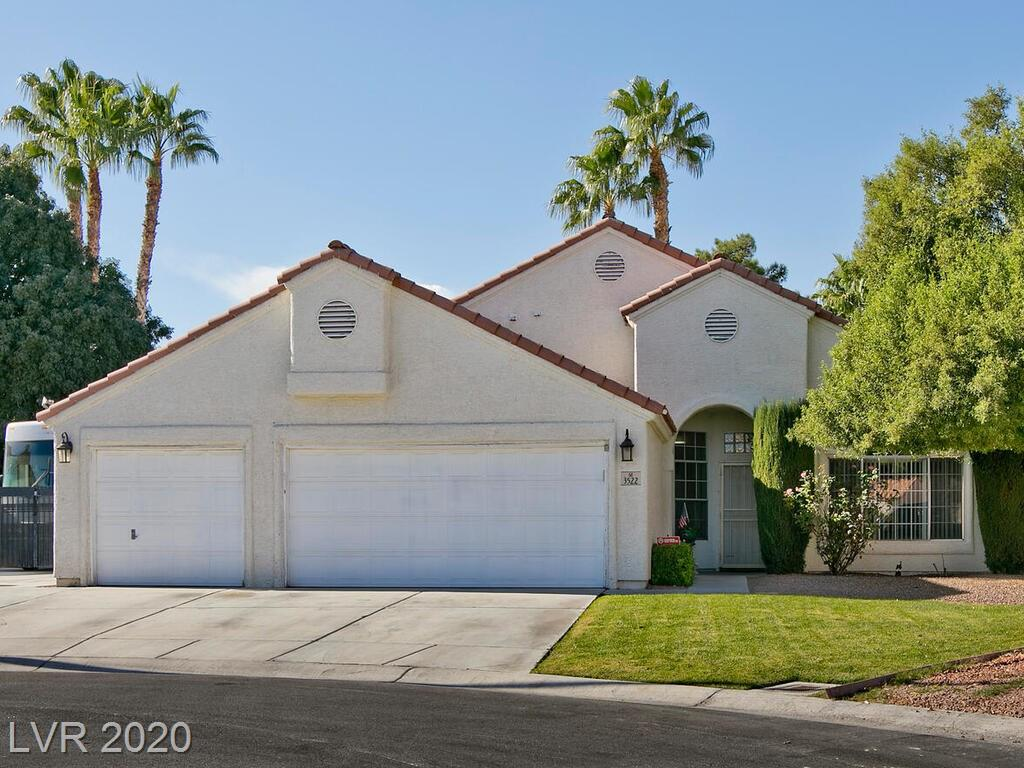 3522 Captain Kirk Court Property Photo - North Las Vegas, NV real estate listing