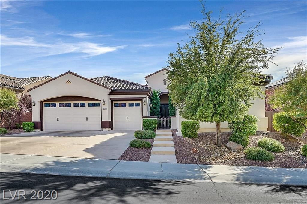 2421 Luberon Drive Property Photo - Henderson, NV real estate listing