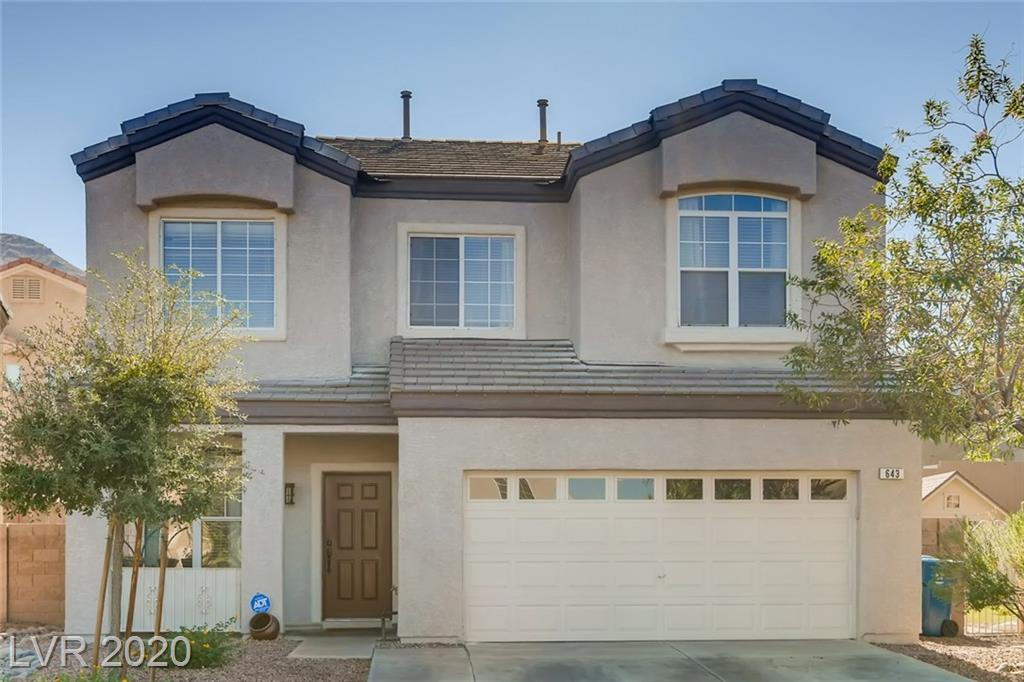 643 Wind Cave Court Property Photo - Henderson, NV real estate listing