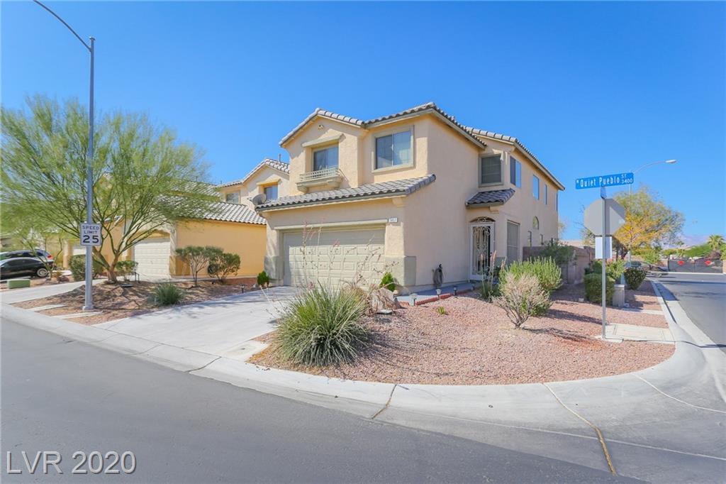 3457 Quiet Pueblo Street Property Photo - North Las Vegas, NV real estate listing