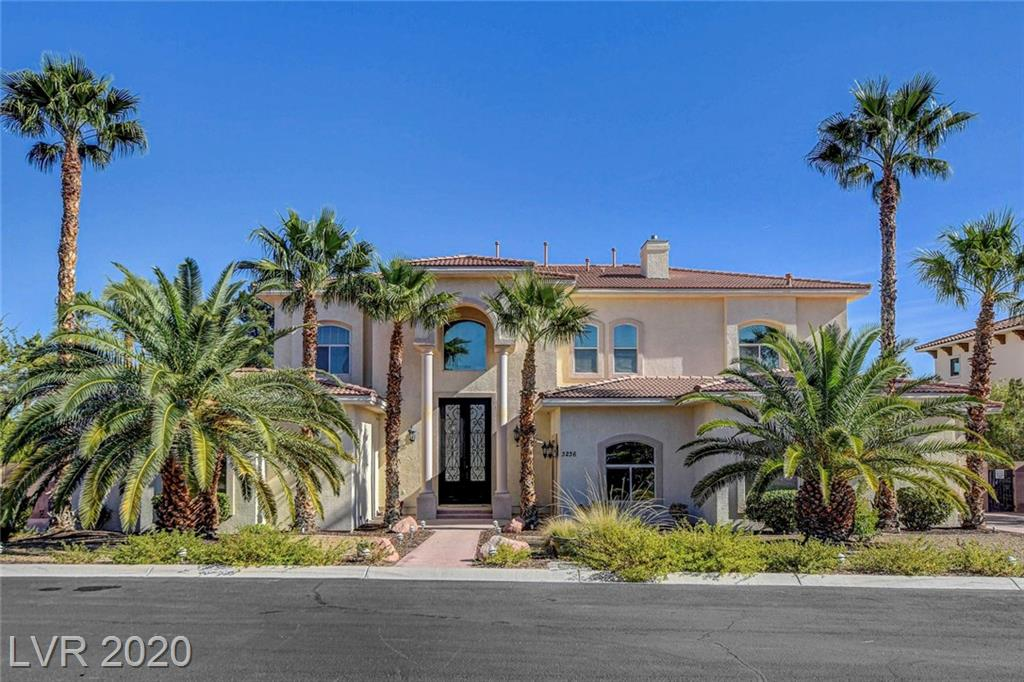3236 Costa Smeralda Circle Property Photo - Las Vegas, NV real estate listing