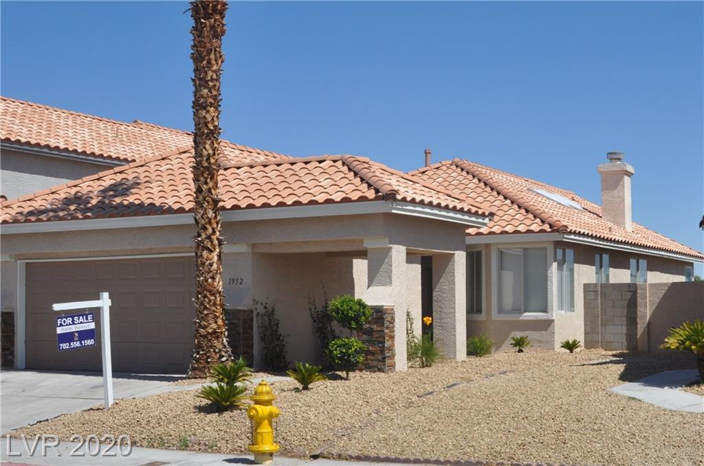 1952 Bookbinder Drive Property Photo - Las Vegas, NV real estate listing