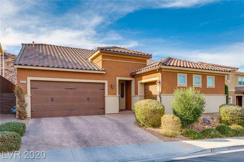 285 Mandarin Hill Lane Property Photo - Henderson, NV real estate listing