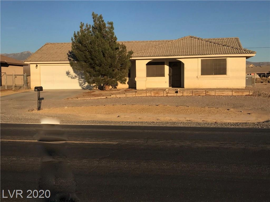 2451 S Dandelion Street Property Photo - Pahrump, NV real estate listing