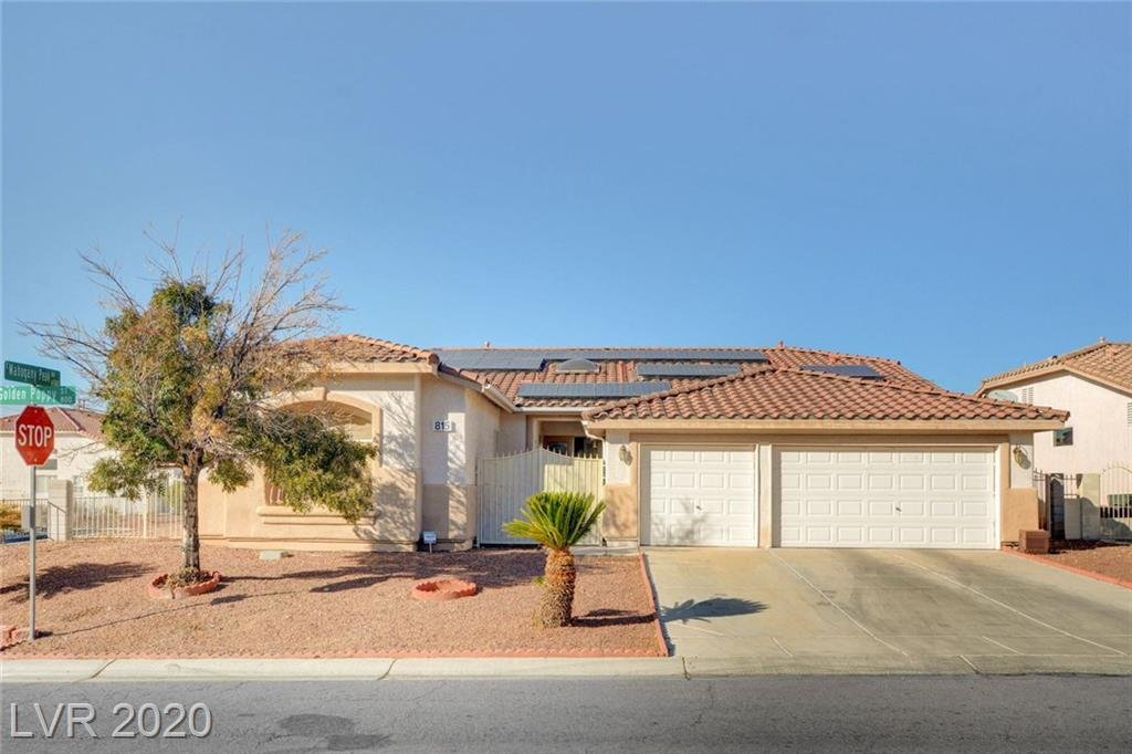 815 Golden Poppy Street Property Photo - Las Vegas, NV real estate listing