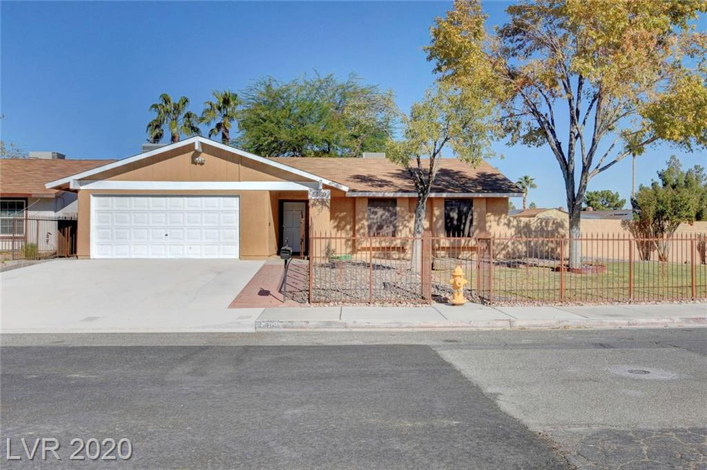 5460 Cleek Street Property Photo - Las Vegas, NV real estate listing