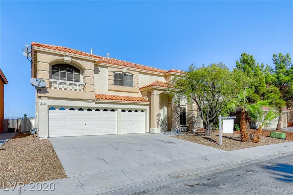 436 Atlas Peak Avenue Property Photo - Las Vegas, NV real estate listing