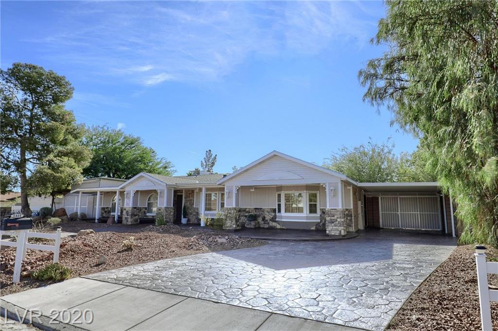 5409 Bat Masterson Circle Property Photo - Las Vegas, NV real estate listing