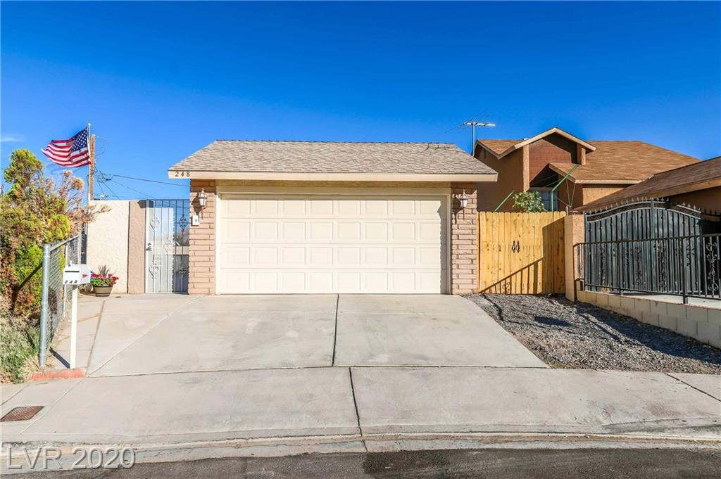 248 Sacramento Drive Property Photo - Las Vegas, NV real estate listing
