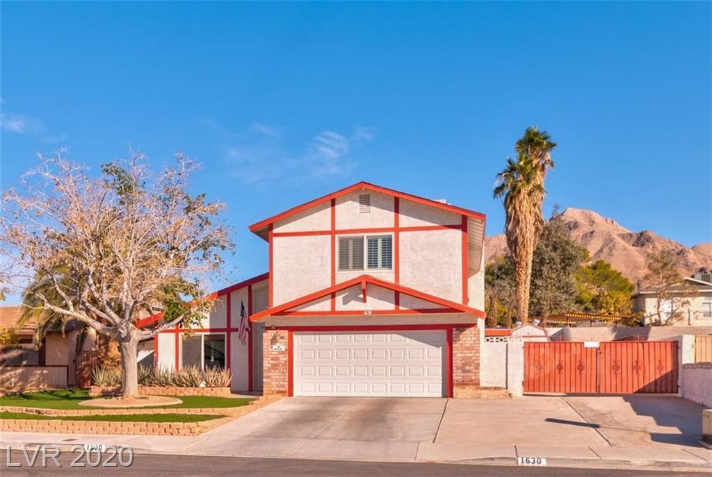 1630 Rolling Hills Drive Property Photo - Las Vegas, NV real estate listing