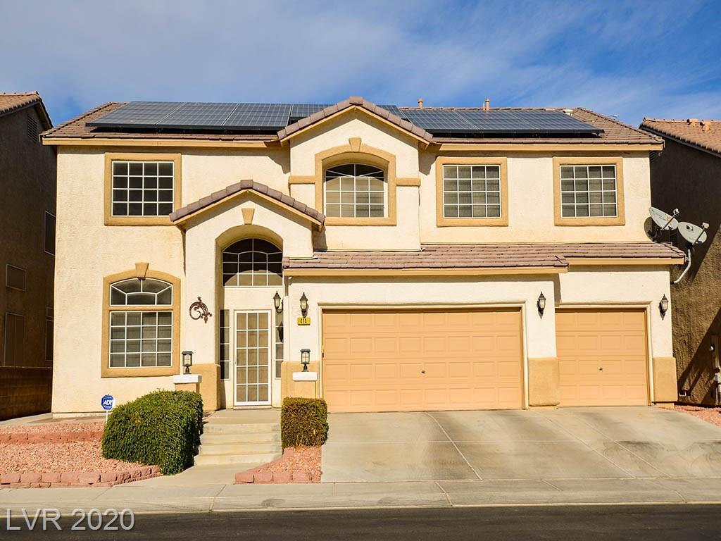 414 Finch Ridge Avenue Property Photo - North Las Vegas, NV real estate listing