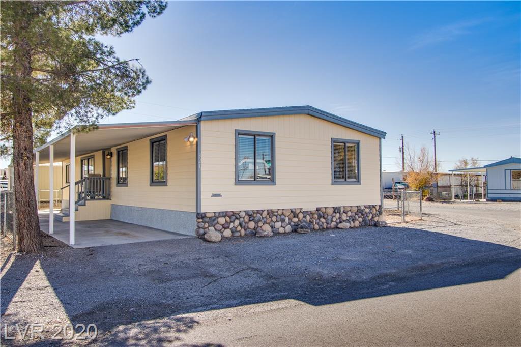 321 Bonnie Clair Court Property Photo - Pahrump, NV real estate listing