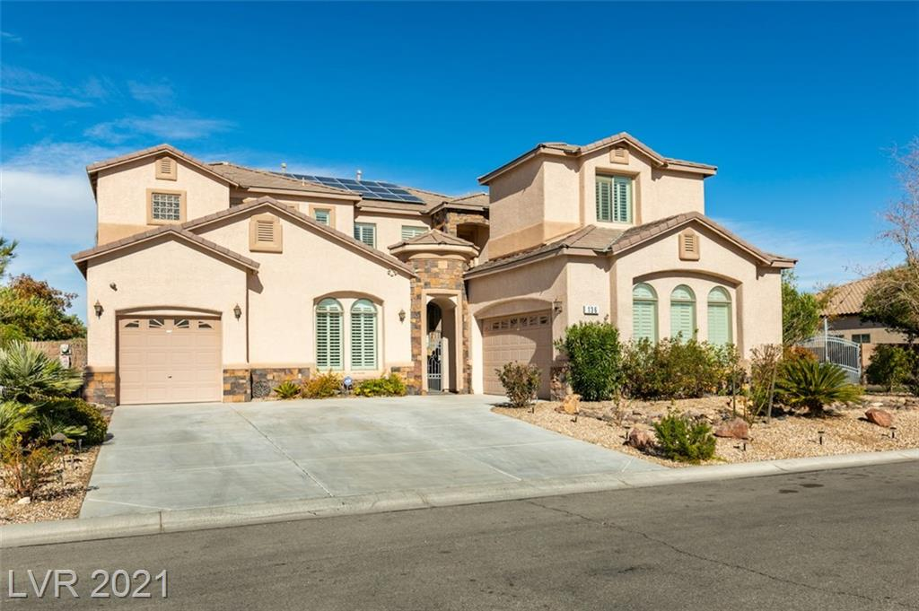 136 Peachy Court Property Photo - Las Vegas, NV real estate listing