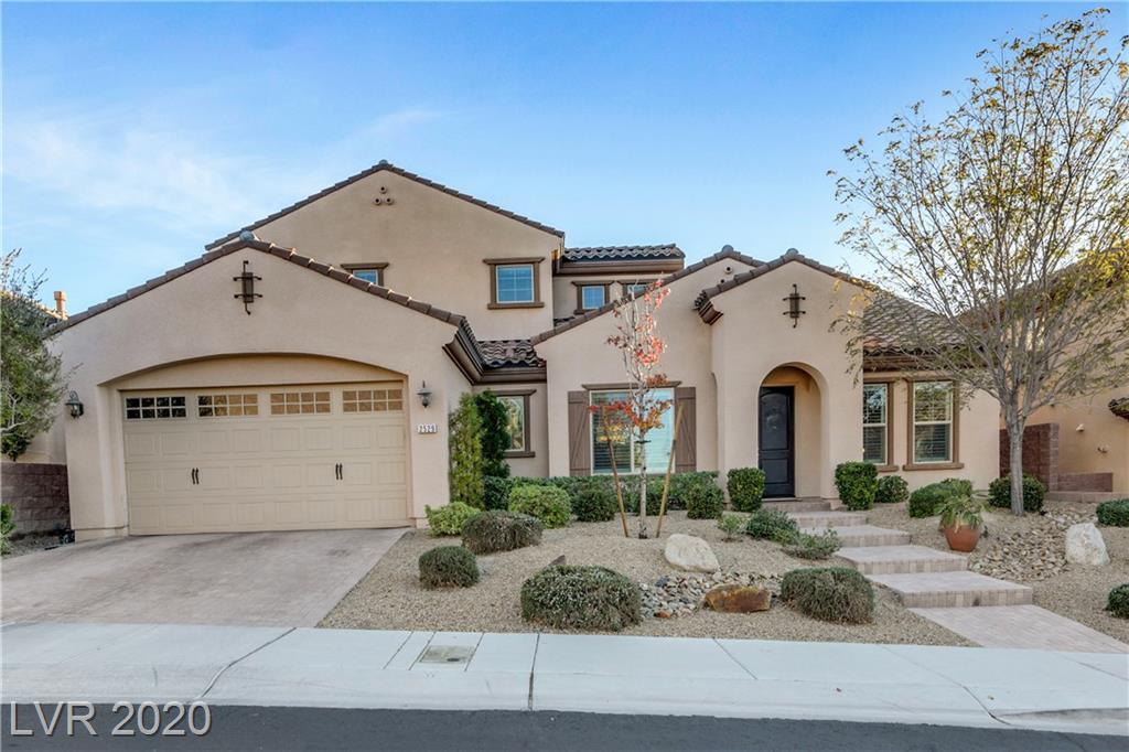 2529 Luberon Drive Property Photo - Henderson, NV real estate listing
