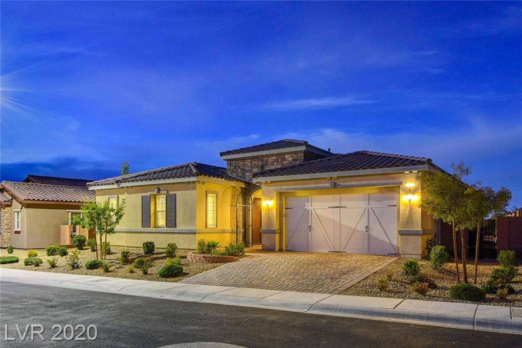 2572 Desante Drive Property Photo - Henderson, NV real estate listing
