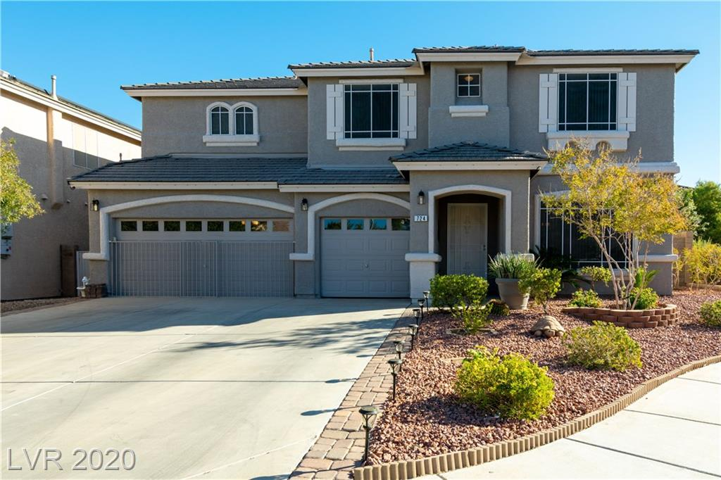 724 Blue Crystal Creek Road Property Photo - Henderson, NV real estate listing