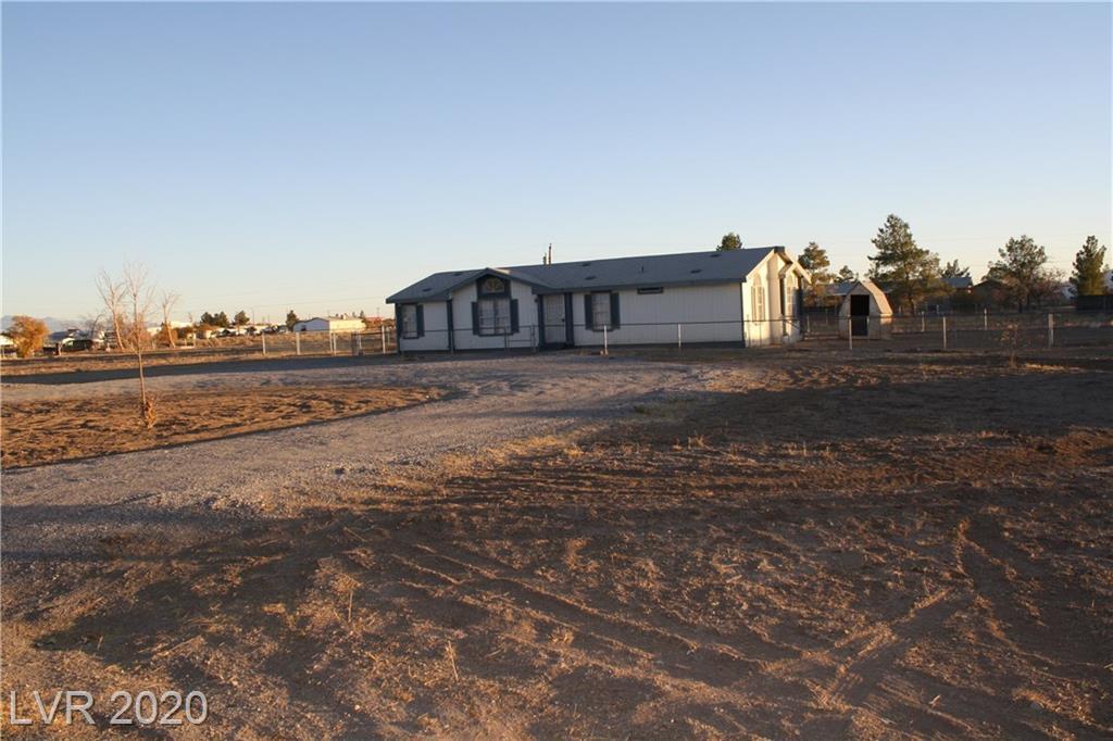 1211 Vondell Drive Property Photo - Pahrump, NV real estate listing