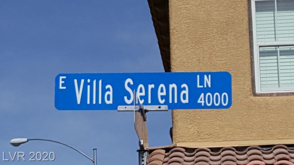 4017 VILLA SERENA Lane Property Photo - North Las Vegas, NV real estate listing