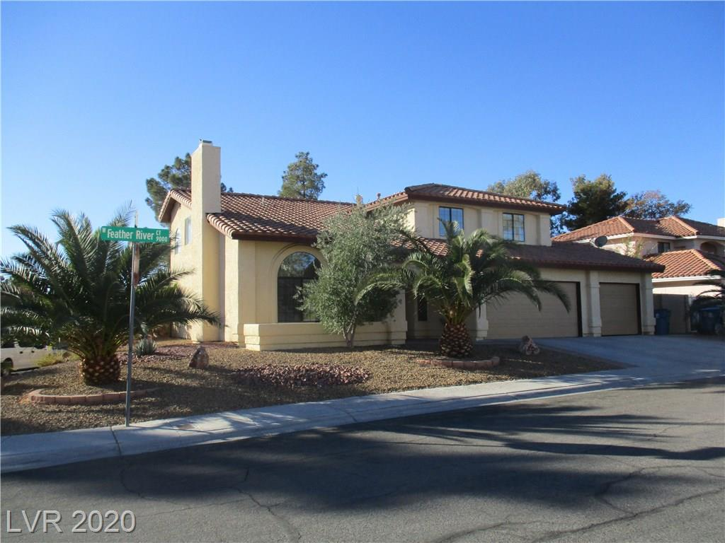 9001 Feather River Court Property Photo - Las Vegas, NV real estate listing