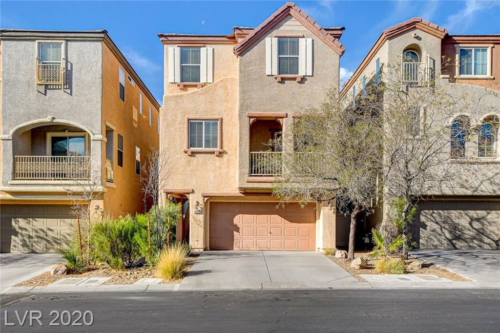 4769 Cortina Rancho Street Property Photo - Las Vegas, NV real estate listing