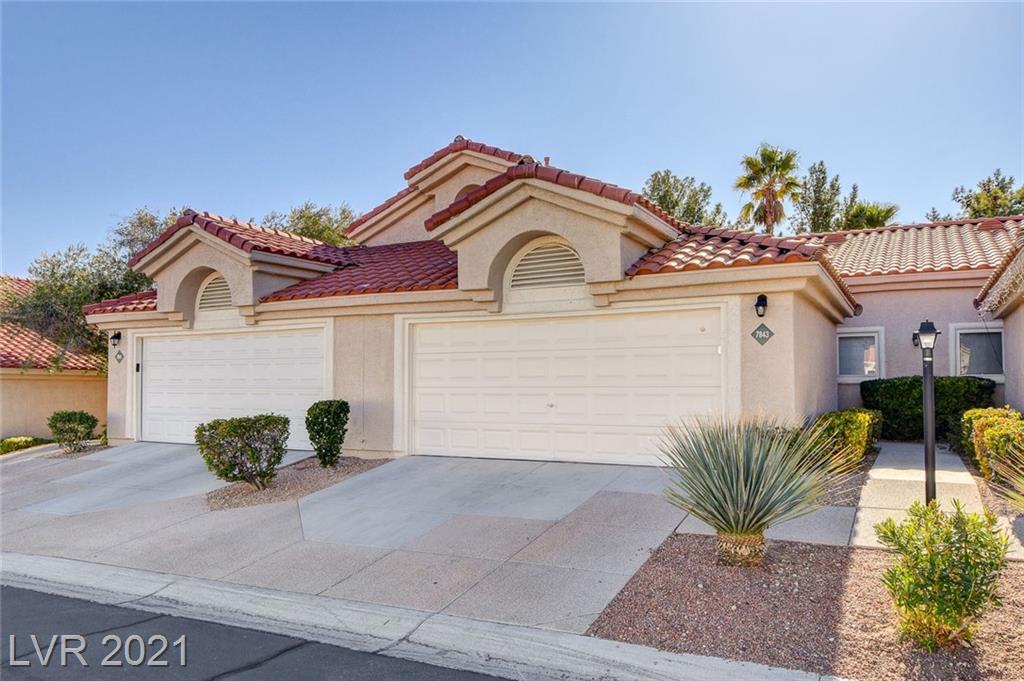 7843 Settlers Ridge Lane Property Photo - Las Vegas, NV real estate listing
