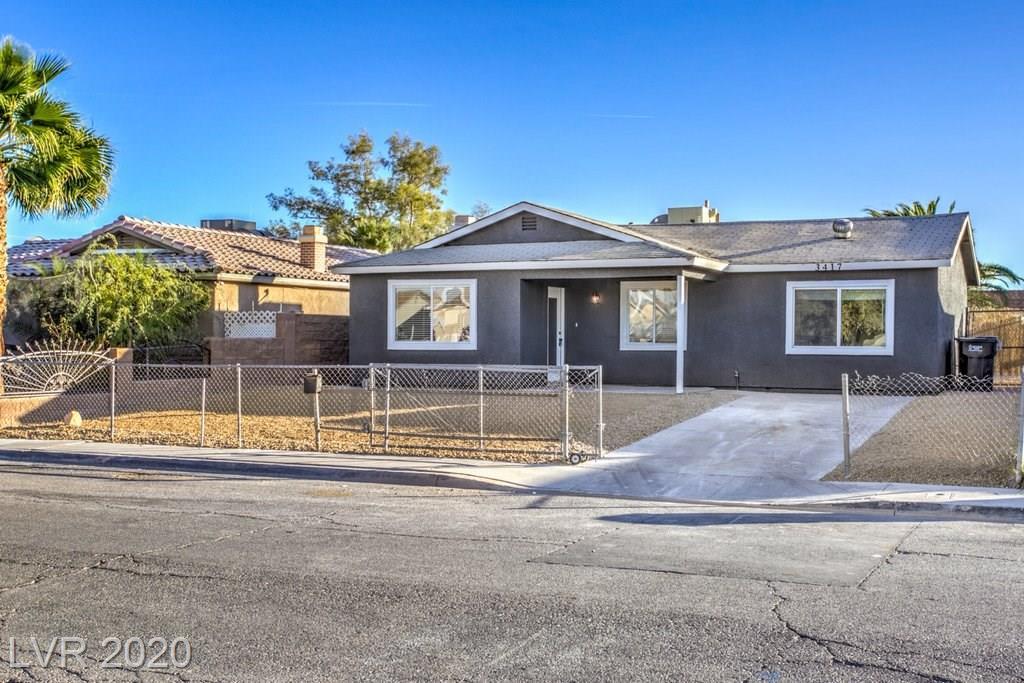 3417 Lillis Circle Property Photo - North Las Vegas, NV real estate listing