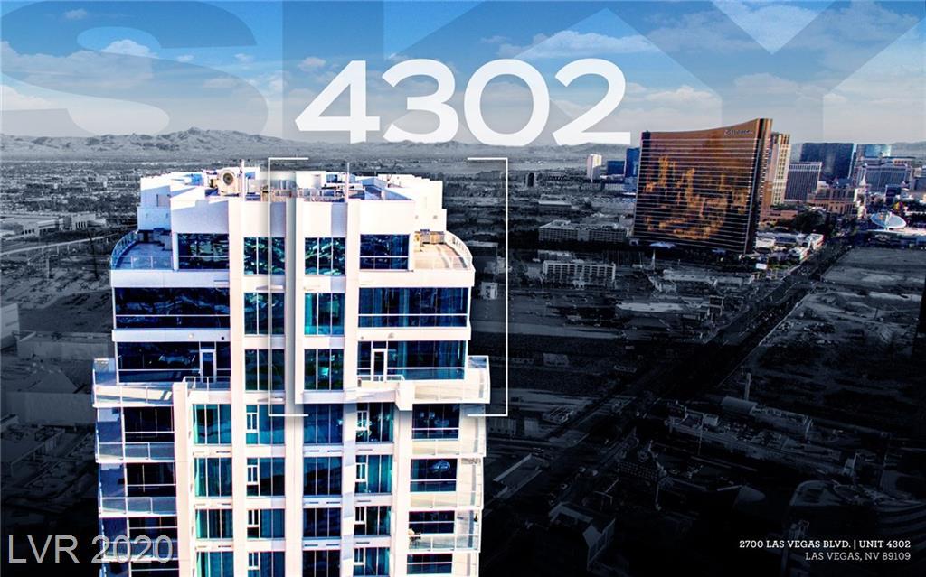 2700 LAS VEGAS Boulevard #4302 Property Photo - Las Vegas, NV real estate listing