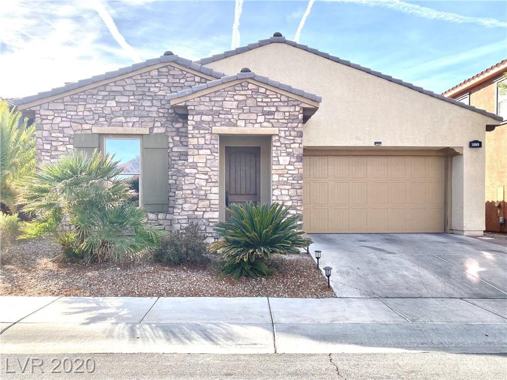 1089 Via Canale Drive Property Photo - Henderson, NV real estate listing