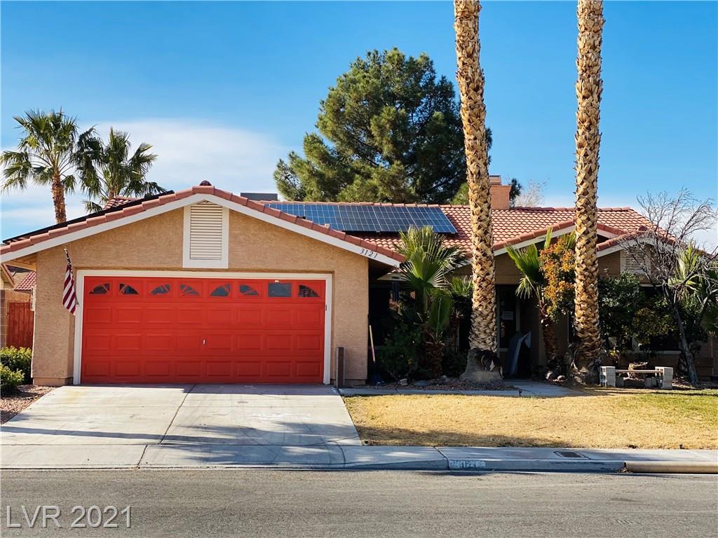 3121 Budding Blossom Court Property Photo - Las Vegas, NV real estate listing