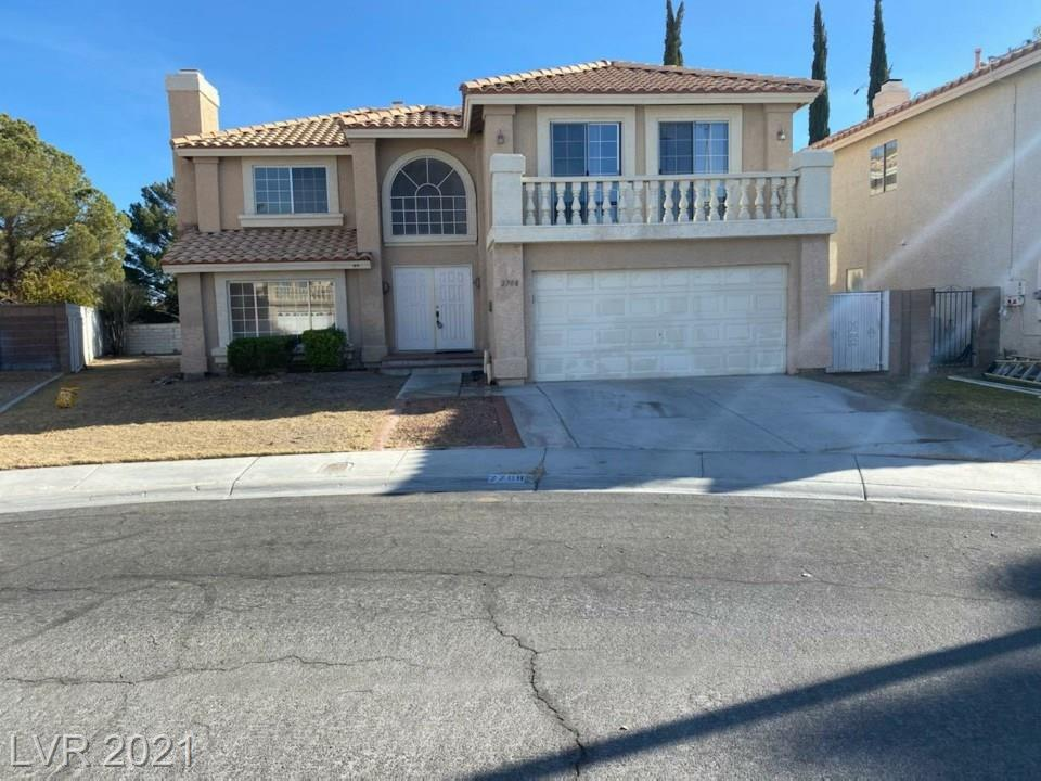 2708 Quail Roost Way Property Photo - Las Vegas, NV real estate listing