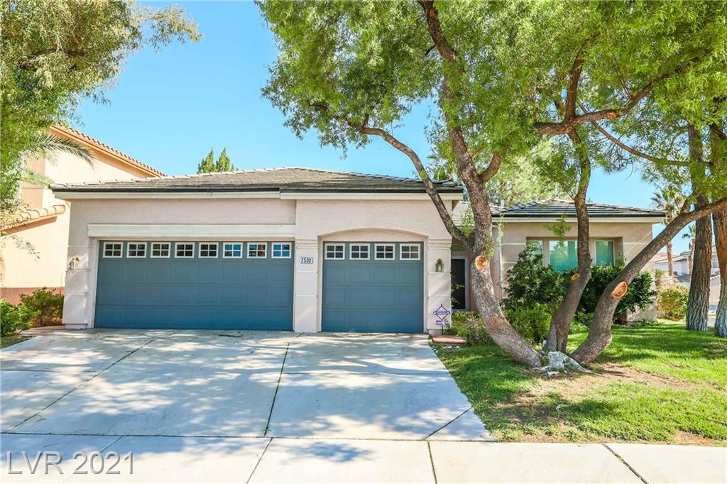 2500 Serenity Court Property Photo - Henderson, NV real estate listing