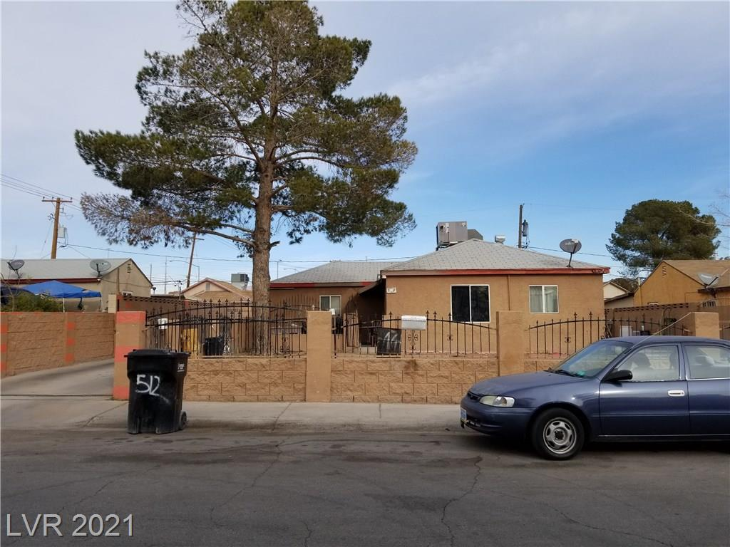 512 Orr Avenue Property Photo - Las Vegas, NV real estate listing
