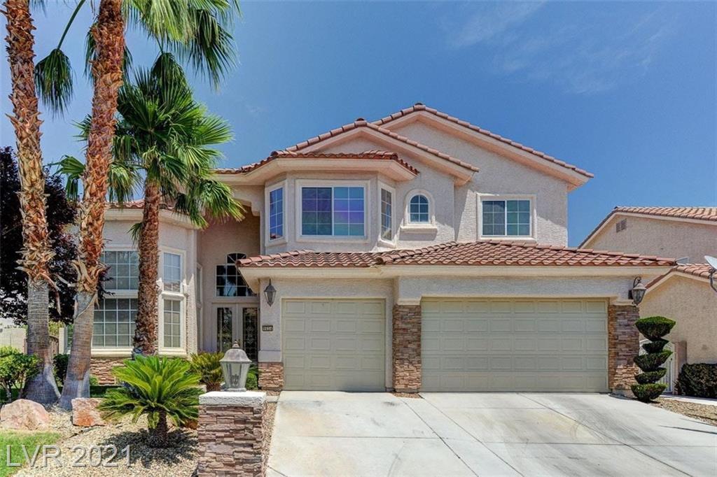 9654 Irvine Bay Court Property Photo - Las Vegas, NV real estate listing