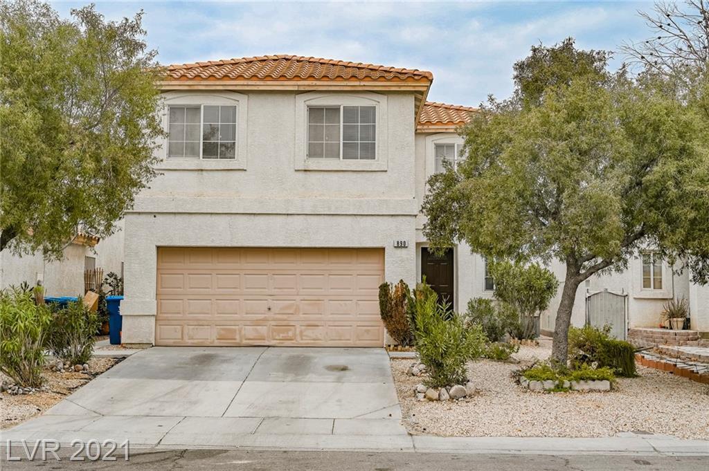 890 Ribbon Grass Avenue Property Photo - Las Vegas, NV real estate listing
