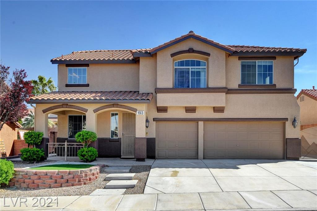 193 Emerald Mountain Avenue Property Photo - Henderson, NV real estate listing