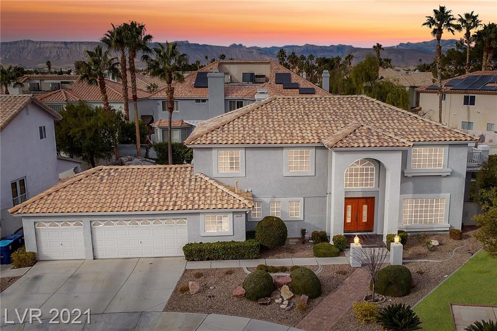 3625 Emerald Beach Court Property Photo - Las Vegas, NV real estate listing