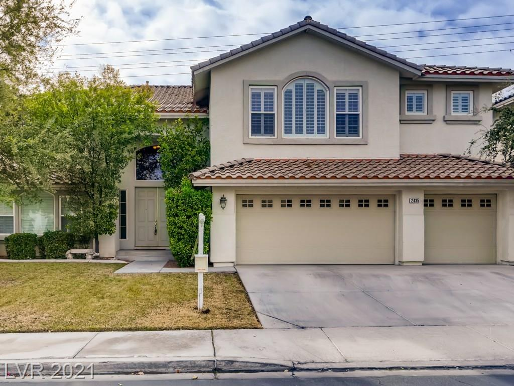 2435 Tour Edition Drive Property Photo - Henderson, NV real estate listing