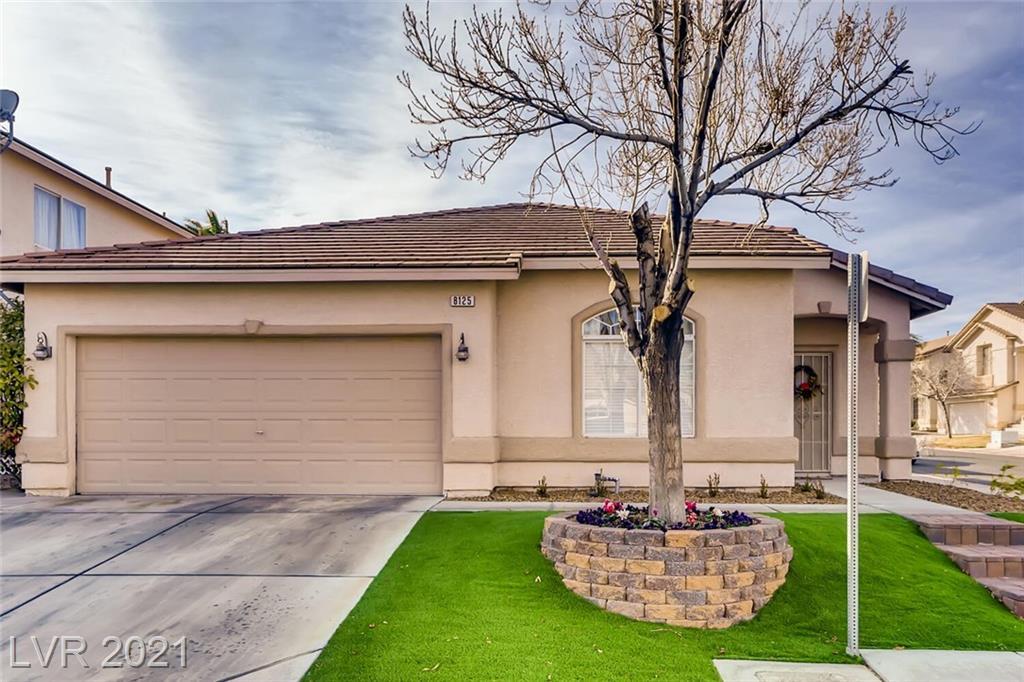 8125 Jade Harbor Court Property Photo - Las Vegas, NV real estate listing