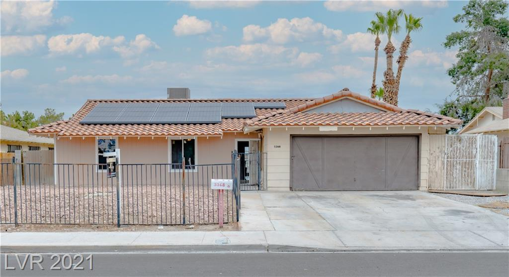 5368 Escondido Street Property Photo - Las Vegas, NV real estate listing
