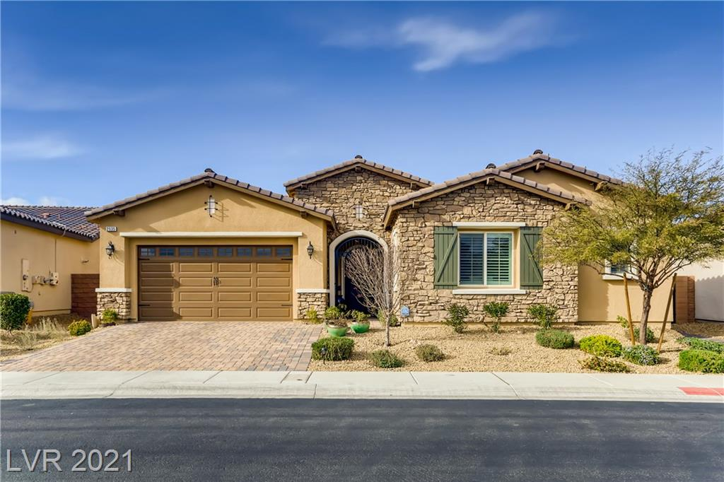 2535 Desante Drive Property Photo - Henderson, NV real estate listing