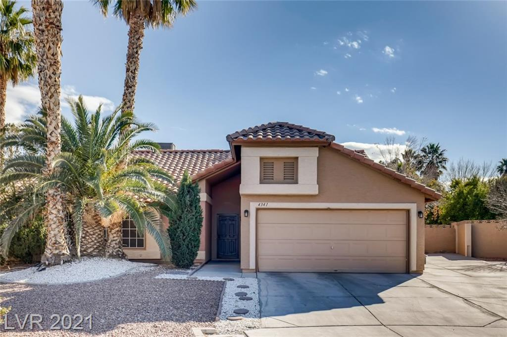 4341 Silvercrest Court Property Photo - North Las Vegas, NV real estate listing