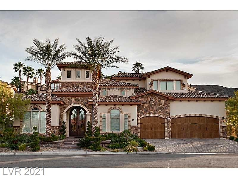 15 Rue Grimaldi Property Photo - Henderson, NV real estate listing