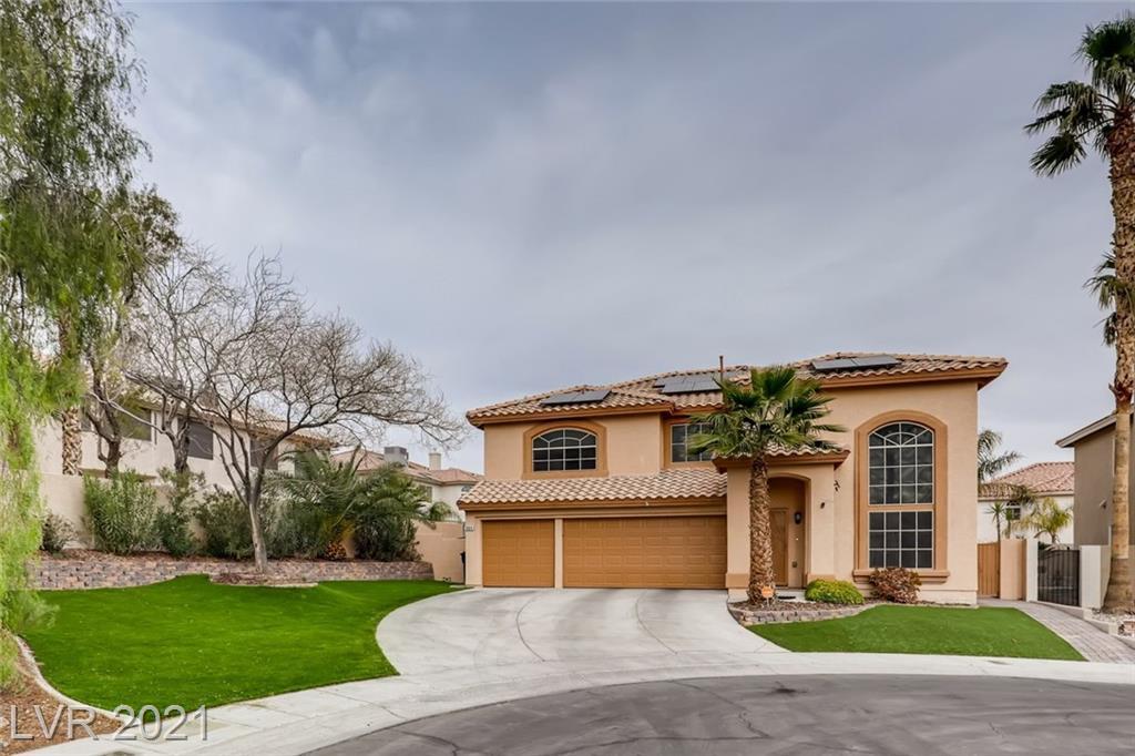 8804 Misty Creek Avenue Property Photo - Las Vegas, NV real estate listing