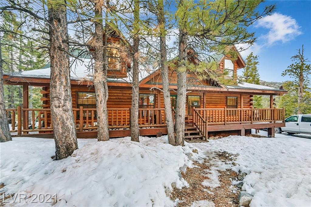 2193 Via Spes Nostra Street Property Photo - Mount Charleston, NV real estate listing
