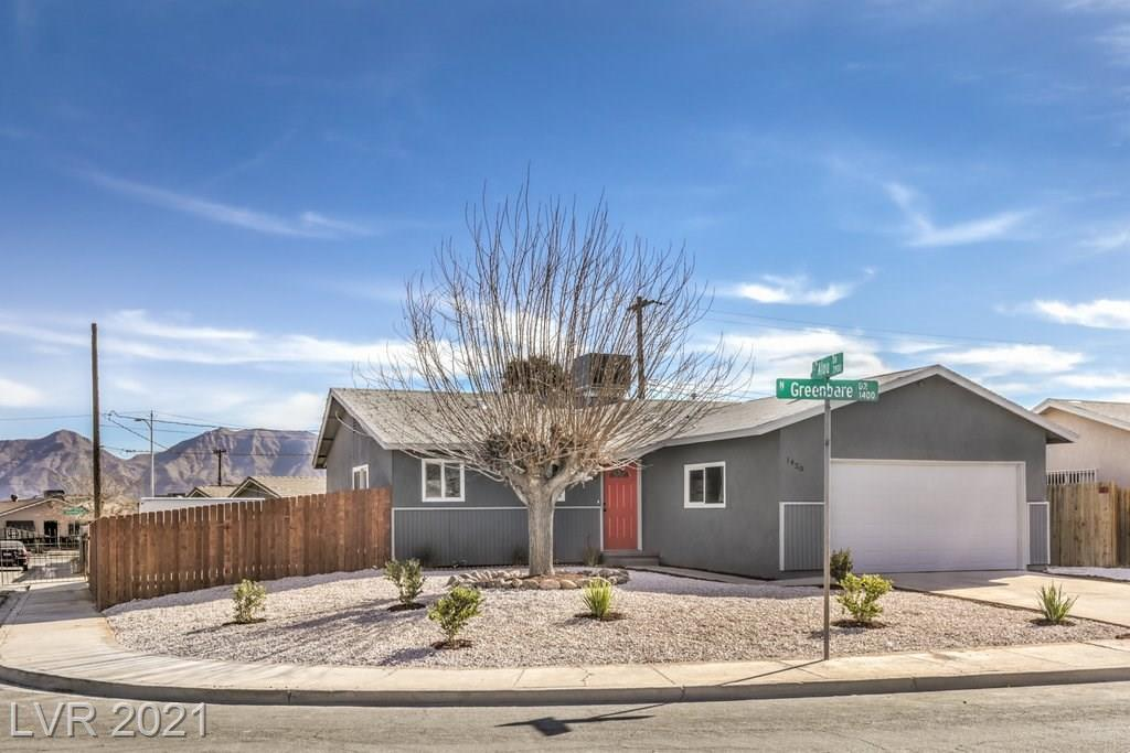 1420 Greenbare Drive Property Photo - Las Vegas, NV real estate listing