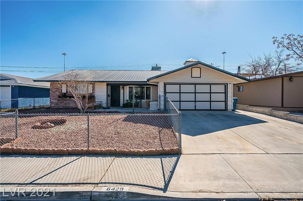 6429 Mecham Avenue Property Photo - Las Vegas, NV real estate listing